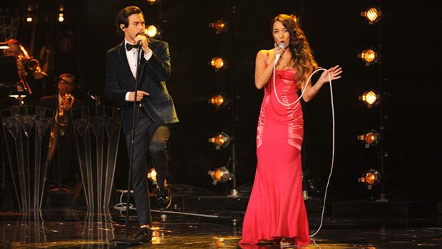 Alex & Sierra dedicated this performance to each other. Of course they did!