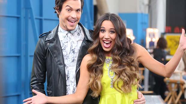 Alex & Sierra were perfectly in sync backstage.