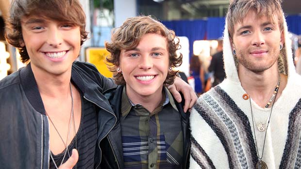 Emblem3 returned home to the X FACTOR stage.