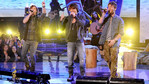 "Singing ""Just For One Day,"" it was so nice to have Emblem3 back on The X Factor stage."