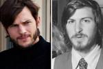 Ashton Kutcher as Steve Jobs