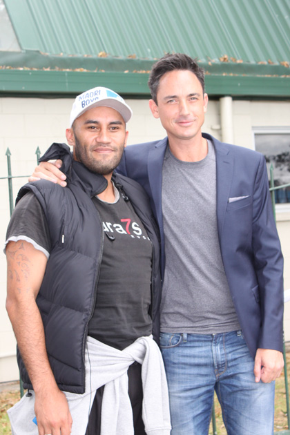 Dom hangs out with The X Factor NZ hopefuls in Auckland
