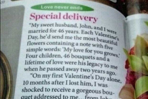 Good Luck Topping This On Valentines Day