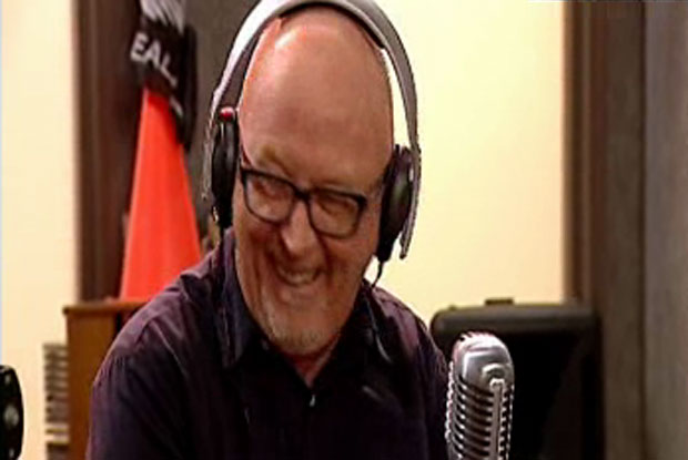 Dave Dobbyn finally gets to chat to the hosts