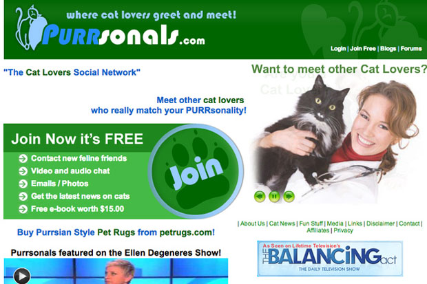 Meet like minded cat lovers