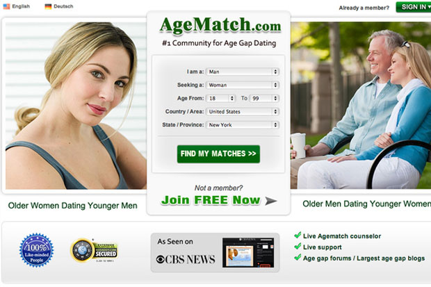 It's the #1 community for age gap dating!