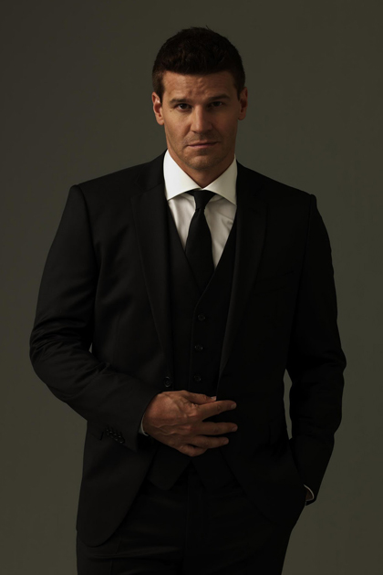 David Boreanaz poses for Hamptons Magazine