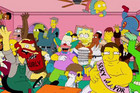 The Simpsons Do The Harlem Shake!