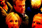Cast of Modern Family Stuck In An Elevator
