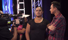 Dom interviews Ashley Tonga backstage after her audition