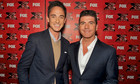 Dominic and Simon at The X Factor USA