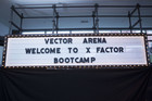X Factor bootcamp at Vector Arena