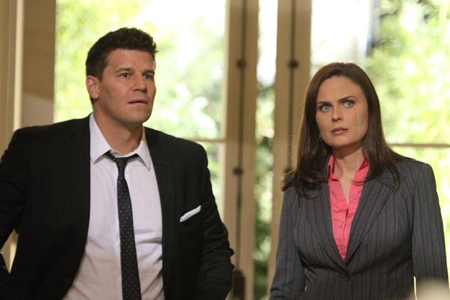 Booth and Brennan take their investigation to Green Passages.  the second body in the grave, Rachel Knox, was a business partner there.