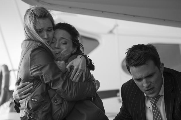 Linda and Simon rush to make sure Jane is ok