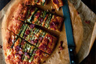 Asparagus Cheddar Focaccia