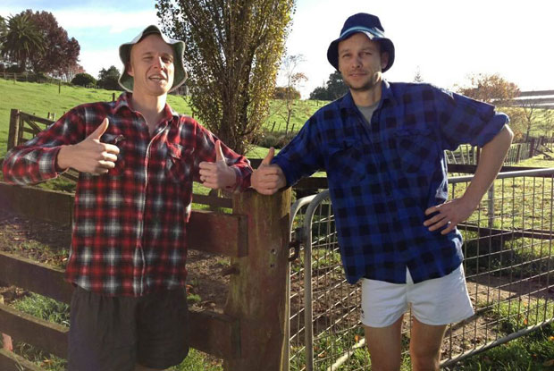 The least manly farmers you could find...