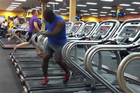 Hilarious Treadmill Dance