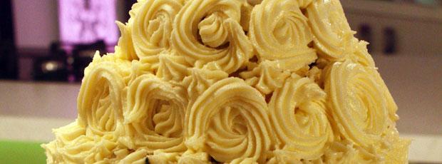 Gemma's Wedding Cake  - Chocolate and Lemon