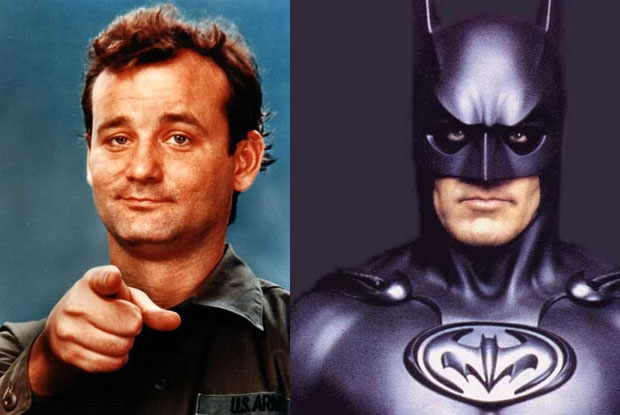 Bill Murray almost became Batman, but lost out to George Clooney