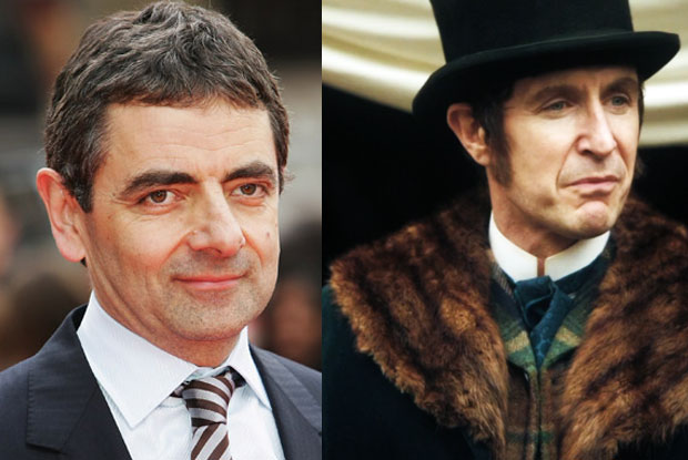 Rowan Atkinson might have been Dr Who (this went to Paul McGann)