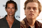 Matthew McConaughey was considered for Jack Dawson in Titanic (Leonardo DiCaprio became a household name instead)