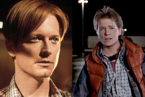 Eric Stoltz shot half of Back to the Future before being replaced by Michael J Fox. Apparently he just wasn't funny enough...
