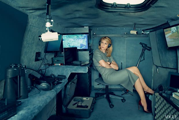 Photographed by Annie Leibovitz for Vogue