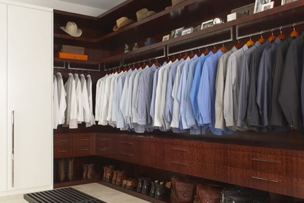 Colour co-ordinate your shirts for OCD heaven