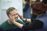 Koan gets... a head massage?! Nice one!
