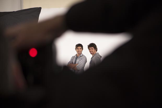 Pete and Andy's shoot