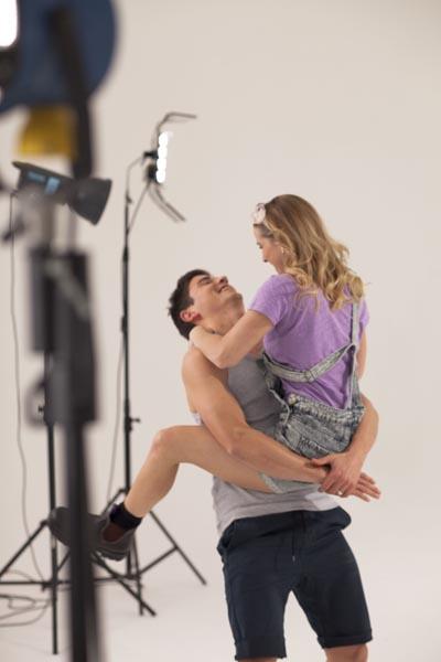 Dancer Alice loves her man