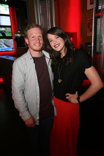 Alisa & Koan at The Block NZ launch