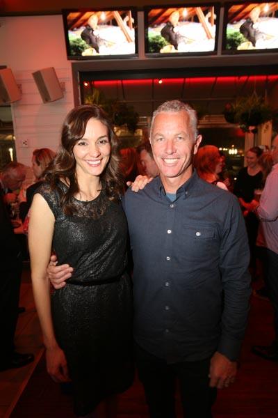 Host Mark Richardson and Challenge Host Shannon Ryan