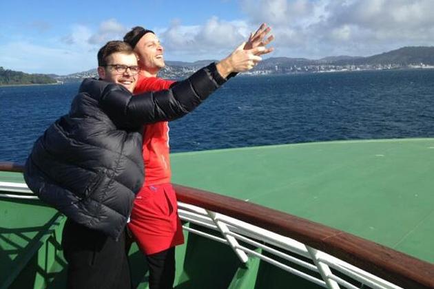 It's Kate and Leo on the Interislander