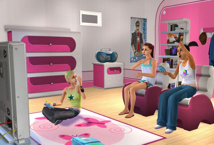 A super fun teenage games room