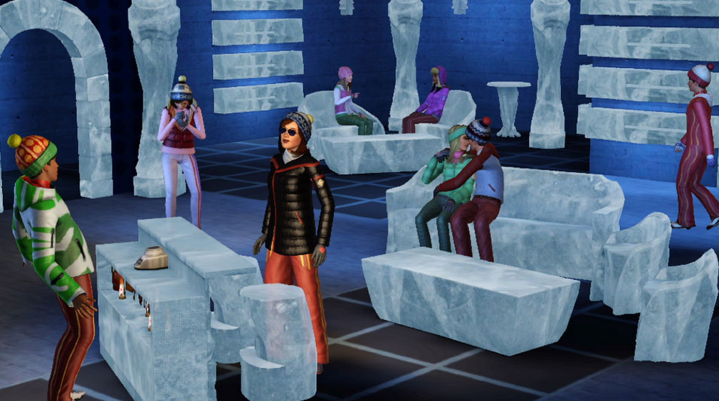 An ice bar - why not?