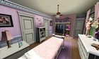 What a cute pink bedroom