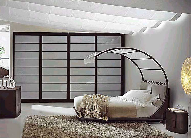Bed placement is very important. Avoid putting the bed in front of the door (this is known as the coffin position) and try to avoid putting it in the corner of the room. Also, don't put a mirror where you can see yourself when you sleep.