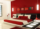 Colour plays a big part in Feng Shui. Red invigorates joy and excitement in your home.