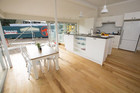 Alisa and Koan's heritage style kitchen and dining