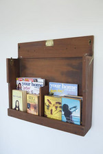 Koan's upcycled bookcase addition