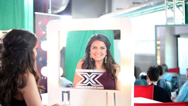 This contestant is X FACTOR ready!