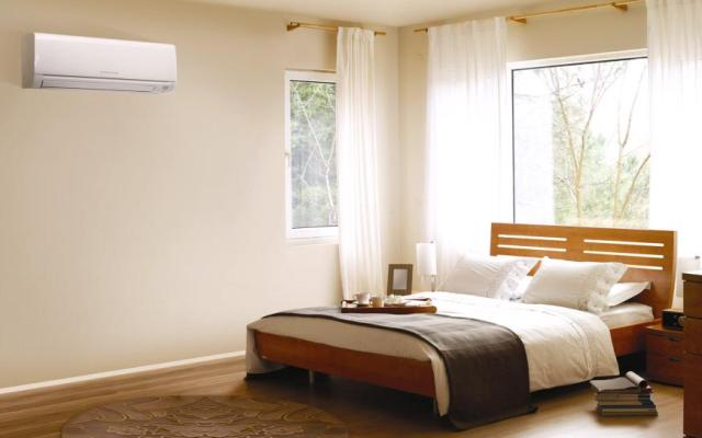 Mitsubishi Electric Heat Pumps are whisper quiet, the perfect choice for bedrooms