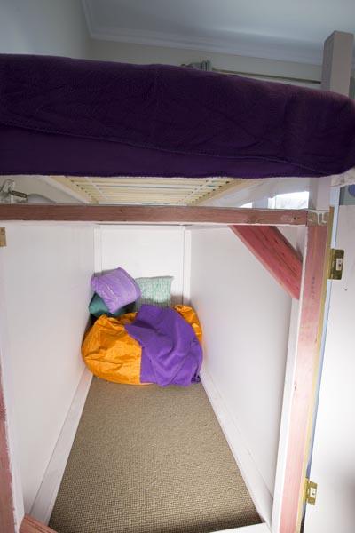 The secret hideaway!