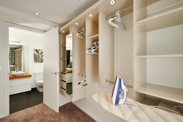 A very spacious wardrobe