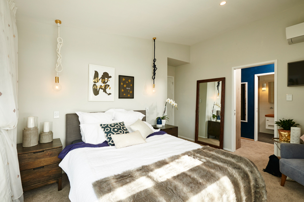 Check out the freedom furniture products used in Jo and Damo's Master Bedroom