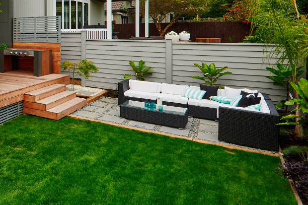 Check out Jo and Damo's backyard.