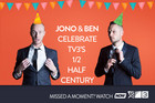 Jono and Ben Celebrate TV3's 1/2 Half Century