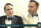 Leonardo and Lorenzo behind the scenes interview