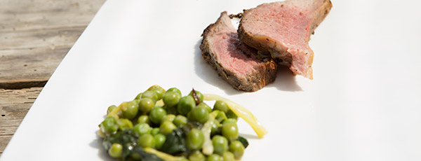 Lamb with French Vegetable Medley by Lucy and Johnny
